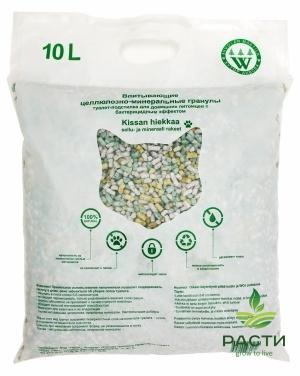 Бактерицидный целлюлозно-минеральный наполнитель для взрослых кошек
